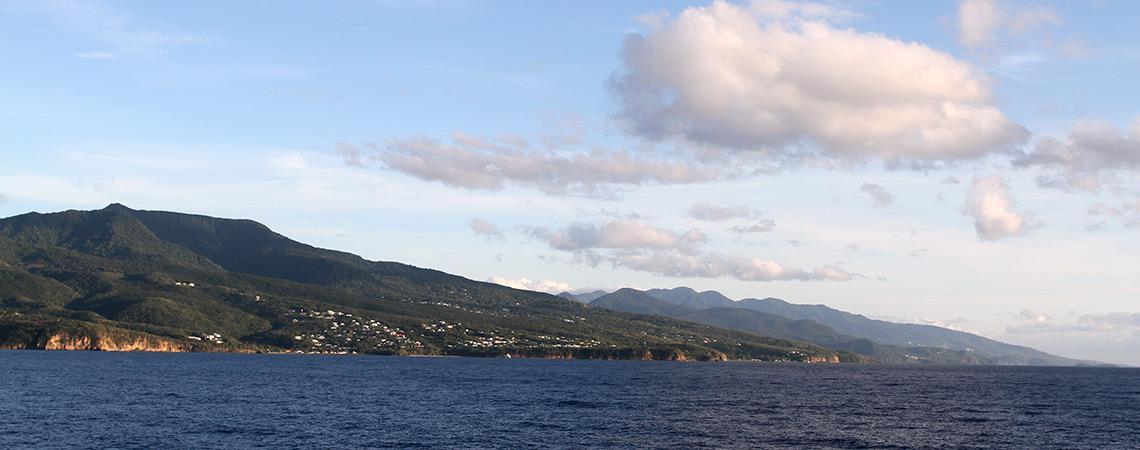 Vue de la commune Vieux-Habitants