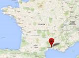 Localisation du site de Vauvert