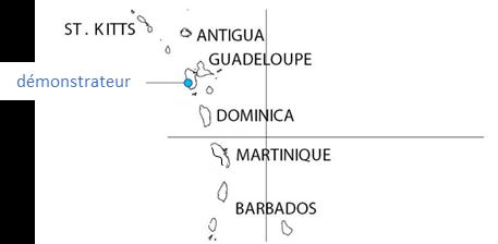Le projet GEOTREF vise à étudier le potentiel géothermique des Antilles