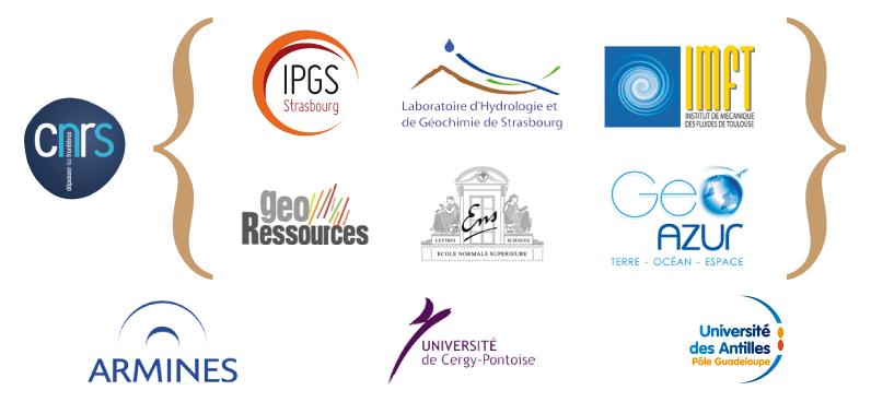 Les neuf laboratoires français de renommée internationale